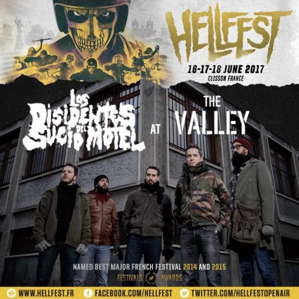 Los Disidentes Del Sucio Motel «Hellfest 2017»