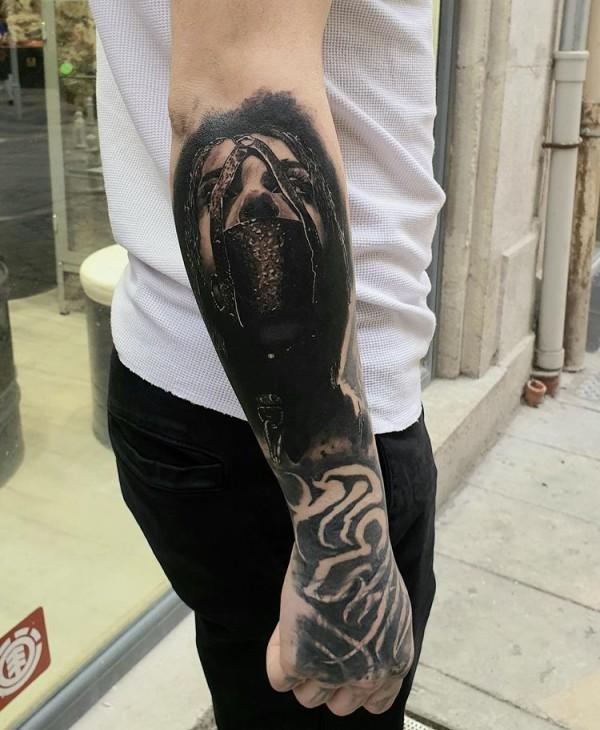 Ak10 tattoo